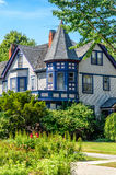 House in Oak Park. In a Sunny Day royalty free stock photography