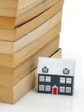 House object. And property books Royalty Free Stock Photo