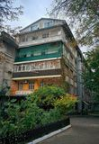 House in Odessa. Dwelling house in Odessa Royalty Free Stock Photos