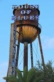 House of吹管在迪斯尼春天的水塔 免版税库存照片