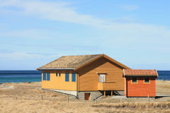 House Of Flakstad Stock Photography