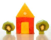 House Of Fruits Royalty Free Stock Image