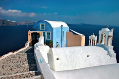 House from Oia Royalty Free Stock Photography