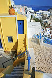 House in Oia stock images