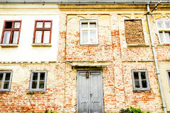 House with old brick wall Stock Photography