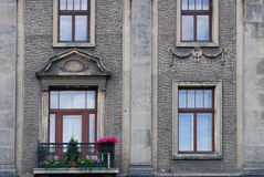 House on the old city in Cracow Stock Photos