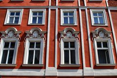 House on the old city in Cracow Royalty Free Stock Photography