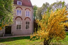 House in old city Gdansk, Poland royalty free stock image