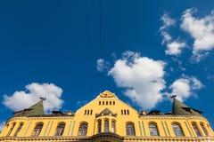 House in old city Riga, Latvia. Stock Image