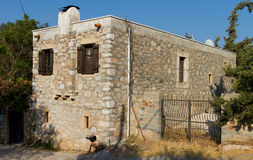 House in Old Datca Royalty Free Stock Image