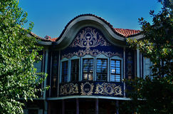 House in Old Plovdiv Royalty Free Stock Photos