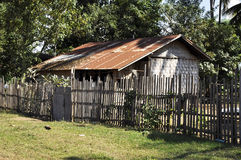 House Old Thailand Retro Style Country Vintage Stock Photo
