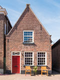 House in old town of fortified city  Woudrichem, Netherlands Royalty Free Stock Images