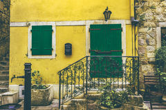House in Old Town. Kotor, Montenegro Stock Photography