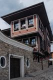 House in old town Plovdiv, Bulgaria Royalty Free Stock Photos