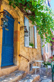 House in the old town of Saint Tropez Royalty Free Stock Images