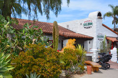 House in Old Town San Diego Stock Photography