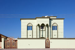 House in Oman Royalty Free Stock Photography