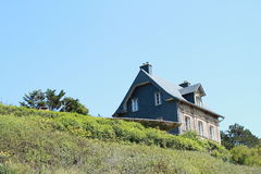 Free House On A Hill Stock Image - 25821481