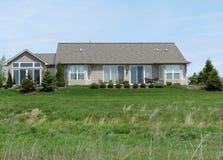 Free House On A Prairie Stock Image - 9486791