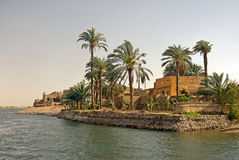House On Nile River, Egypt Stock Photography