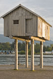 House On Stilts Royalty Free Stock Images