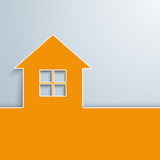 House Orange Cover Stock Photos