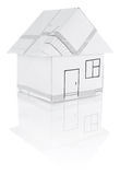 House origami Stock Images