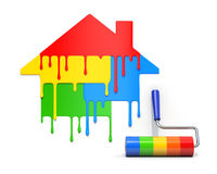 House paint concept Royalty Free Stock Photography