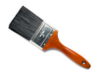 House Paintbrush. On White Background stock image