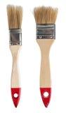 House paintbrushes on white background Stock Photos