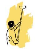 House painter Stock Photos