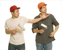 House painters Stock Photography