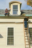 House painters painting house Stock Image