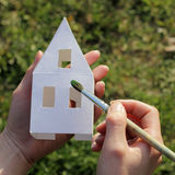 House painting brush Stock Image