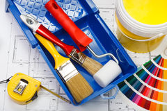 House painting Royalty Free Stock Photos