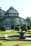 The House of Palm in the Park of Schönbrunn-Palac Royalty Free Stock Photo