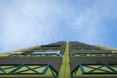 House panel on housing estates Royalty Free Stock Photo