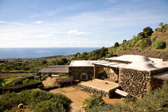 House, Pantelleria Royalty Free Stock Images