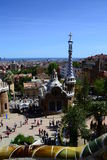 House at park Güell, Barcelona, Spain Royalty Free Stock Images