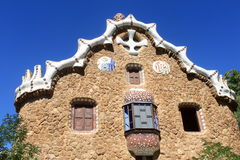 House of Park Guell Stock Photos