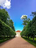 The house in the park Royalty Free Stock Photography