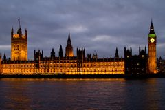 House of Parliament Royalty Free Stock Photography