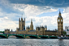 House of Parliament. London, UK Stock Image
