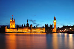 The House of Parliament. In London Royalty Free Stock Photos