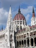 House of Parliament. In Budapest, Hungary Royalty Free Stock Photos