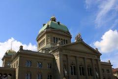 House of Parliament, Bern. Swiss Parliament Building in Bern (Bundeshaus), Switzerland Stock Photos