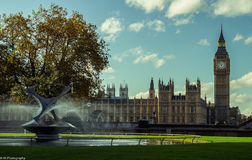 House of Parliament and Big Ben Royalty Free Stock Photography