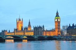 House of Parliament and Big Ben Royalty Free Stock Photos