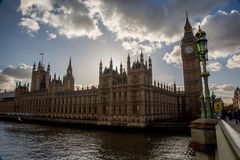 House of Parliament and Big Ben Stock Images